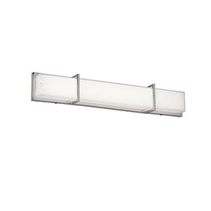 White 33-Inch LED Vanity