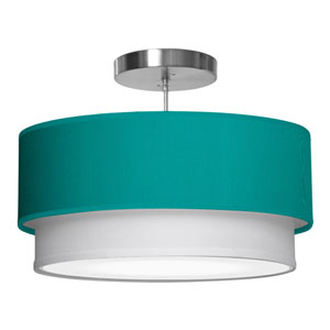 Luther Silk Turquoise 16-Inch One-Light Pendant