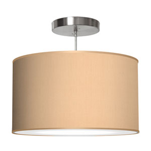 Thao Silk Champagne 16-Inch One-Light Pendant