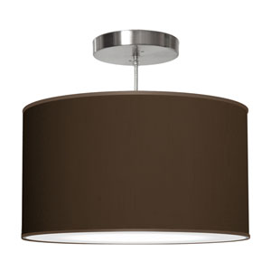 Thao Silk Chocolate 16-Inch One-Light Pendant