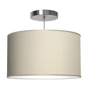 Thao Silk Cream 16-Inch One-Light Pendant