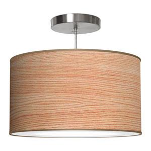 Thao Natural Veneer 16-Inch One-Light Pendant