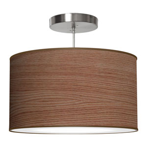 Thao Walnut Stained Veneer 16-Inch One-Light Pendant