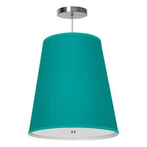 Zak Silk Turquoise 13-Inch One-Light Pendant