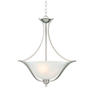 Ironwood Satin Nickel One-Light Energy Star Pendant