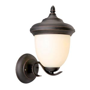 Trevie Oil Rubbed Bronze Outdoor Uplight