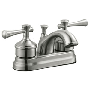 Ironwood Four-Inch Lavatory Faucet