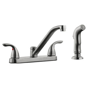 Ashland Low Arch Kitchen Faucet with Sprayer