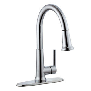 Geneva Kitchen Faucet with Pullout Sprayer