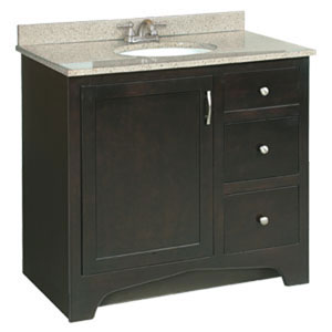 Ventura 36 X 21 Inch Vanity Two-Drawer