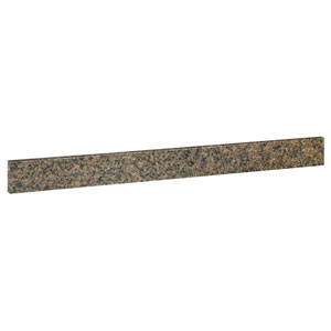 Montclair Tropical Brown 25-Inch Granite Replacement Back Splash