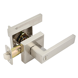 Karsen 2-Way Adjustable Entry Lever, Satin Nickel