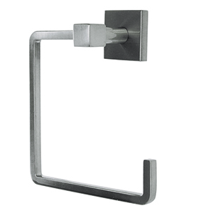 Karsen Towel Ring, Satin Nickel