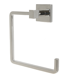 Karsen Towel Ring, Polished Chrome