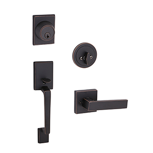 Moderno 2-Way Adjustable Karsen Handlset, Oil Rubbed Bronze