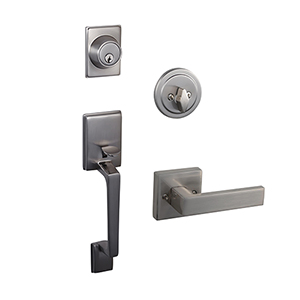Moderno 2-Way Adjustable Karsen Handlset, Satin Nickel