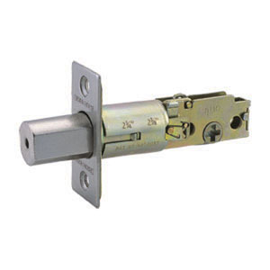 Two-Way Latch Replacement Deadbolt, Adjustable Backset, Satin Nickel Finish