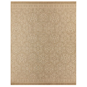 Oasis Nauset Natural Rectangular: 8 Ft. x 10 Ft. Rug