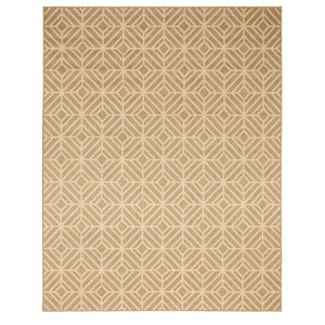Oasis Rockport Natural Rectangular: 8 Ft. x 10 Ft. Rug