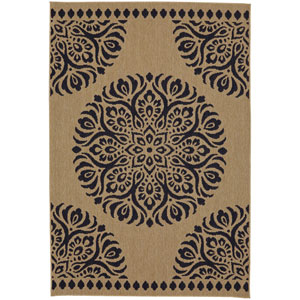 Oasis Saffa Natural Rectangular: 5 Ft. x 7 Ft. Rug