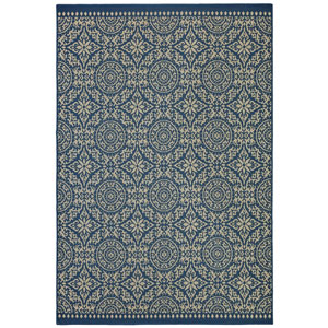 Oasis Bundoran Navy Rectangular: 5 Ft. 3 In. x 7 Ft. 6 In. Rug