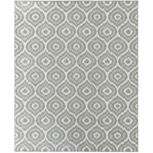 Oasis Morro Silver Rectangular: 5 Ft. 3 In. x 7 Ft. 6 In. Rug