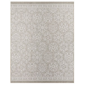 Oasis Nauset Silver Rectangular: 10 Ft. 6 In. x 14 Ft. Rug