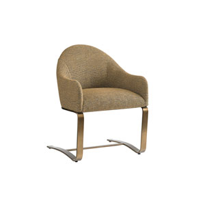 Cross Effect Mocha Icon Desk Chair