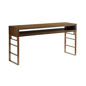Cross Effect Mocha and Bronze Kinetic Office Console