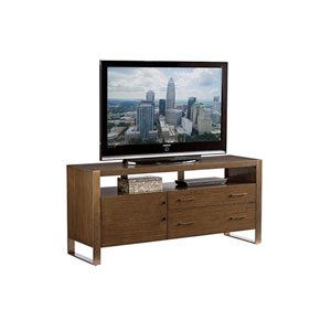 Cross Effect Mocha and Bronze Paramount Media Console
