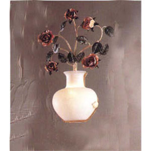 Bouquet Ivory Wall Sconce