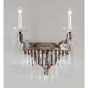 Duchess Aged Bronze Two-Light Wall Sconce