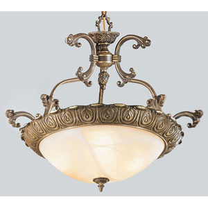 Montego Bay Roman Bronze Four-Light Pendant