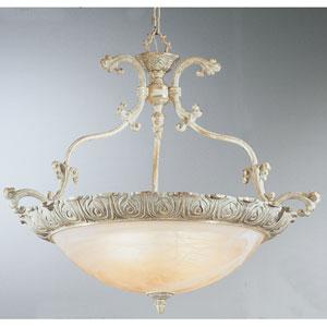 Montego Bay Silver-Gold Four-Light Pendant