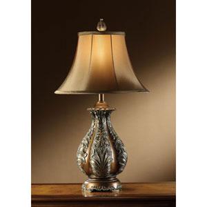 Bronze One-Light Table Lamp