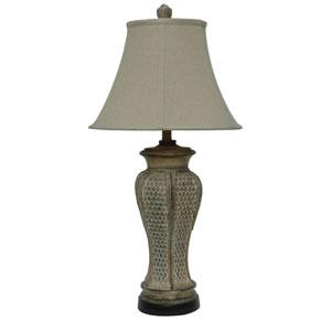 Pineapple Leaf One-Light Table Lamp