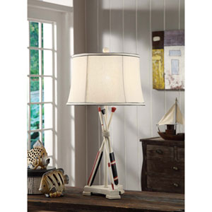 Naudical Oar Table Lamp