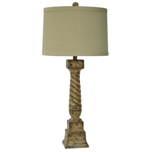 French Post Table Lamp