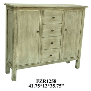 Brookline Four-Drawer and Two-Door Cabinet