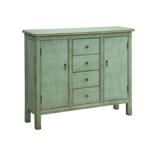Belgrade Wall Cabinet- Shoreline Blue