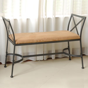 Foot-Of-Bed Bench with Cushion