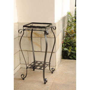 Iron Square Plant Stand
