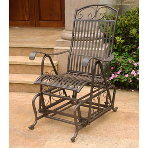 Mandalay Rustic Brown Glider