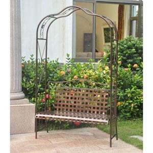 Mandalay Bronze Arbor Bench