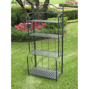 Mandalay Iron Folding Baker Rack