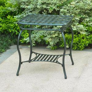 Santa Fe Iron Nailhead Side Table
