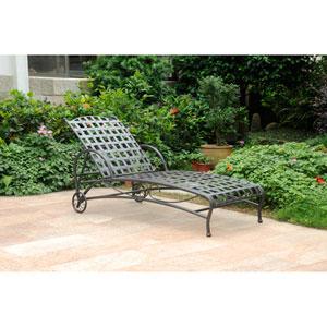 Santa Fe Nailhead Single Multi Position Chaise Lounge