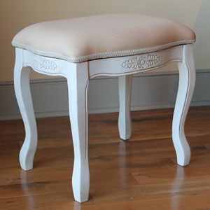 Vanity Stool with Cushion Top