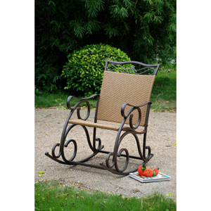 Valencia Resin Wicker/Steel Rocker
