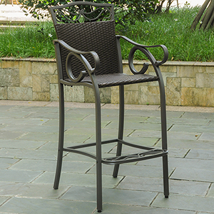 Valencia Chocolate Bistro Chairs, Set of Two